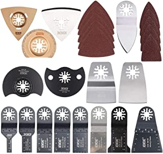 HAOLI 66 pcs/set Oscillating Tool Saw Blades Multitool Blades Accessories Kit