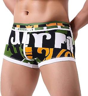 HaiDean Men's Under Men's Warming Boxer Modern Casual Shear Shorts Mens Erotic Warming Underpants Men's Boxer Briefs Thong...