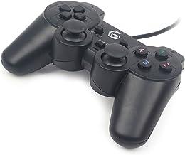 Gembird JPD-UDV-01 Gamepad PC Negro Mando y Volante -