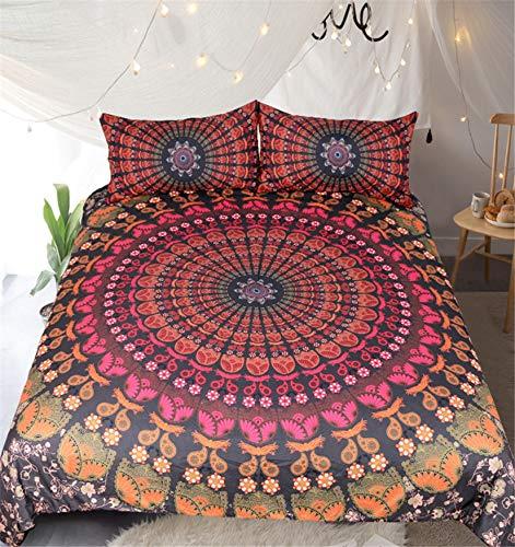 MGORJGR Bohemian Ganesha Purple Twin Size Bedding Set Full Queen King Duvet Cover Set Kids Bed Pillow Cover Australia
