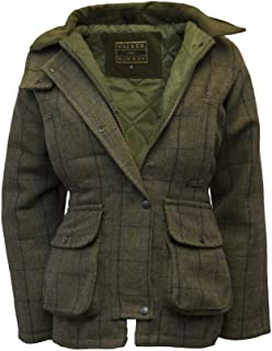 Walker and Hawkes Women's Derby Tweed Shooting Country Jacket