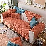 Allenger Funda de sofá de lino y algodón europeo para sala de...