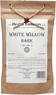 White Willow Bark (Salix alba L. - Salicis Cortex) - Health Embassy - 100% Natural (50g)
