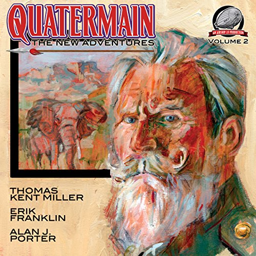 Quatermain: The New Adventures, Book 2 audiobook cover art