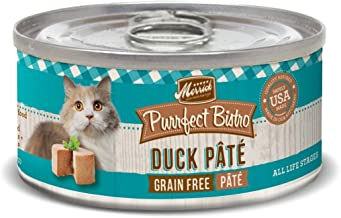 product image for Merrick Purrfect Bistro Duck Pate Recipe Canned Cat Food