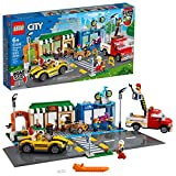 The premium-quality LEGO City Shopping Street (60306) playset comes with detailed buildings, cool vehicles and fun characters with exciting accessories Includes LEGO Road Plates with car and bike lanes and a crosswalk, plus a toy bakery, bike shop, o...