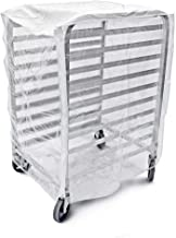Bags & Covers, Bakery Pan Rack Cover, Heavy Duty Plastic, 3 Zippers, 24
