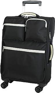 MOIERG(モアエルグ) ソフトキャリーバッグ 機内持ち込み 一部可 Mサイズ スーツケース キャリーバッグ 軽量