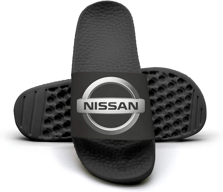 EIGKASL Printed Non-Slip Slippers Slides flip Flop Sandals Nissan-Symbol-Logo-Emblem-Summer Fashion for Womens