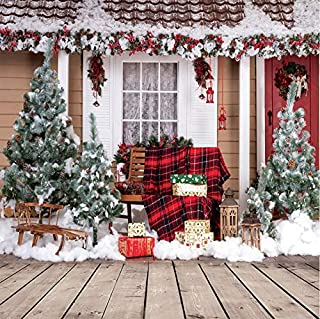 AIIKES 10X10FT Christmas Theme Pictorial Cloth Customized Photography Backdrop Background Studio Prop 10-280