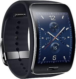 Samsung Gear S SM-R750 (S/K) Curved Super AMOLED Smart Watch (Black) - International Version No Warranty