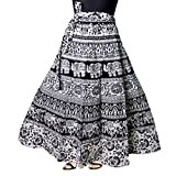 Silver Organisation Women's Cotton Skirt (SK_5183, Multicolor)