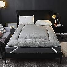Lamb Wool Japanese Floor Futon Mattress,Japanese Futon Mattress Tatami Floor Mat,Foldable Bed,Portable Camping Mattress fo...