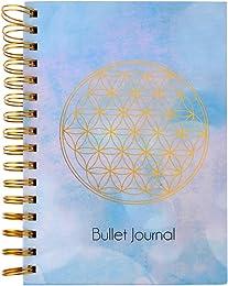 ewtshop® Journal de bullet Fleur de vie, DIN A5, 2