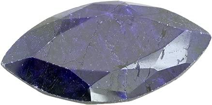 Skyjewels Certified 102 Carat Marquise Shape Blue Sapphire (Neelam) Loose Birthstone