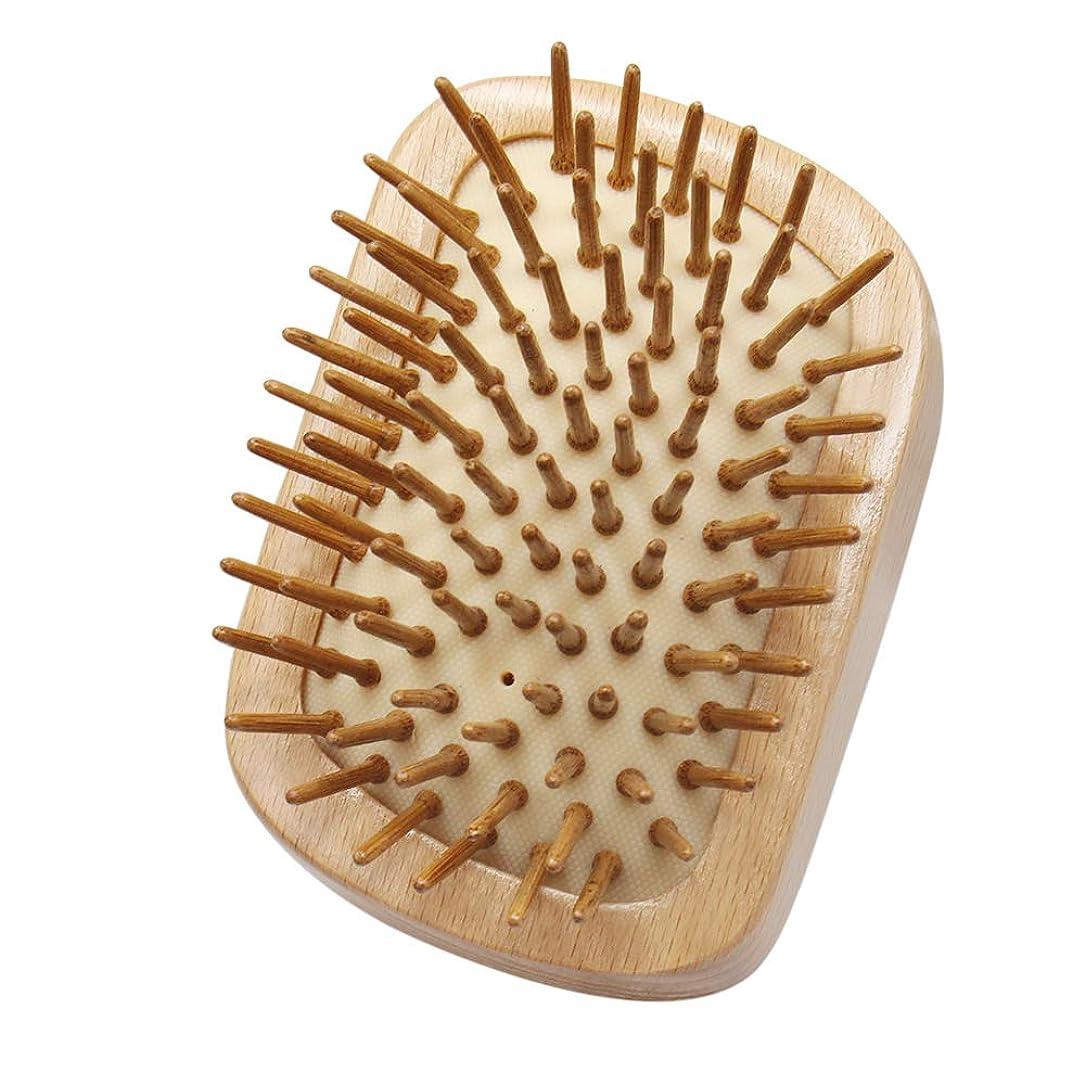 木製評論家固有のヘアブラシ 木製 Mifine 櫛 くし ヘアケア ランキング 頭皮/肩/顔マッサージコーム 艶髪 美髪ケア 静電気防止 血行促進