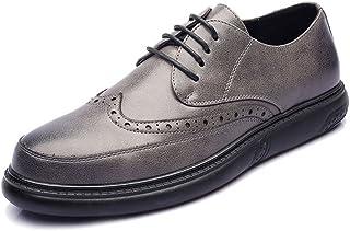 [HYF] シューズ PUレザー メンズ 通気性 柔軟 フォーマル ビジネス クラシック 紳士靴