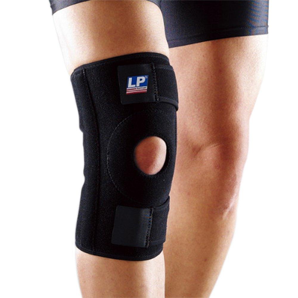 LP 美国欧比护具 护膝 733 双弹簧支撑型 登山 篮球 羽毛球 运动护具