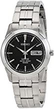 Seiko Quartz Stainless Steel Watch With Day Date - SGG715P1