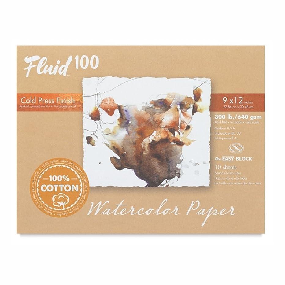 Handbook Paper Fluid 100 Watercolor Cp 300Lb Ez-Block 9X12