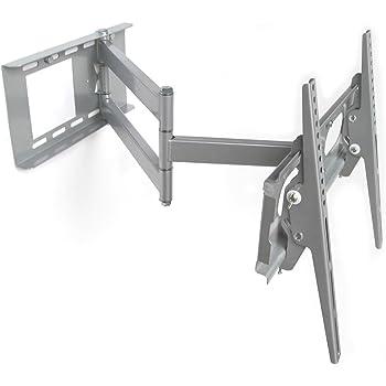 M&G Techno - Soporte de Pared para televisor de 63 Pulgadas, orientable, Distancia a la Pared de 67 cm, con Canal de Cable de 45 cm: Amazon.es: Electrónica