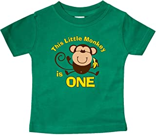 Little Monkey 1st Birthday Boy Baby T-Shirt
