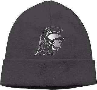 Usc Trojans Platinum Logo Beanie Cap Black