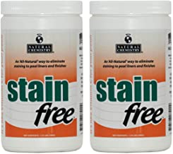 Natural Chemistry 2 07400 Swimming Pool Spa STAINfree Remover - 1.75 lbs Each
