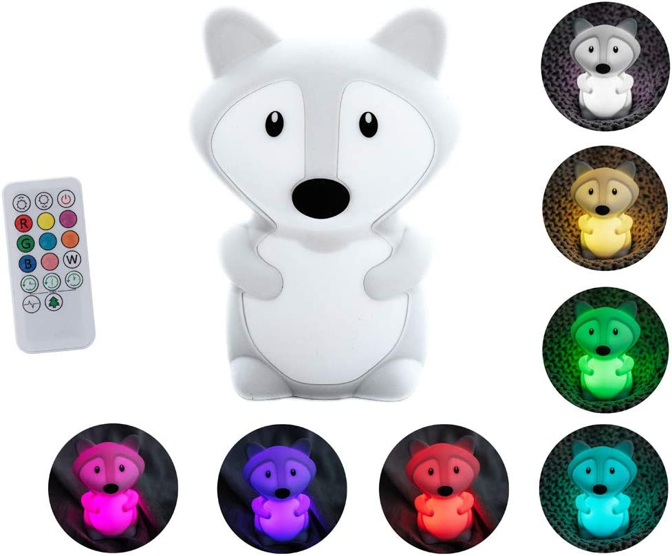 Silicone LED Night NEW Lights Max 76% OFF for Light Bedrooms Animal f Cute
