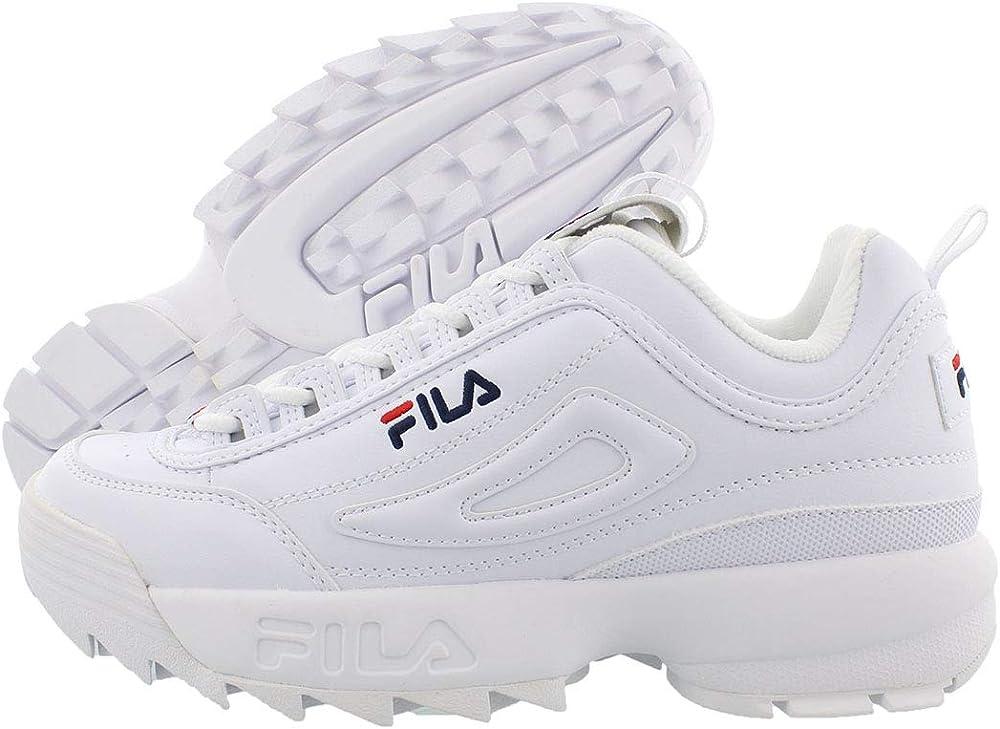 Fila youth  disruptor, scarpe da ginnastica basse donna in pelle FW02945-111