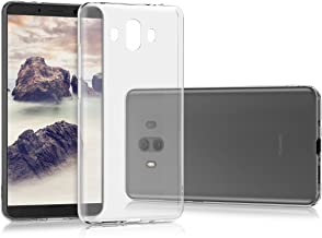 kwmobile Crystal Case Compatible with Huawei Mate 10 - Soft Flexible TPU Silicone Protective Cover - Transparent