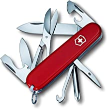 Victorinox Swiss Army Super Tinker Pocket Knife, Red