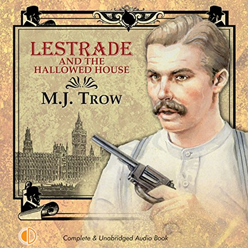 Couverture de Lestrade and the Hallowed House