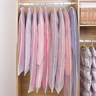 Couvertures de vêtement for vêtements transparent Robes Housse imperrespirant anti-poussière Veste sac de rangement Pour l...