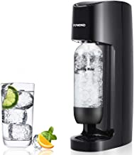 Sparkling Water Maker Carbonated Soda Machine Seltzer Fizzy Drink Maker -with 1L Re-usable BPA-free Carbonating Bottle(Does Not Come with CO2 Cylinder )