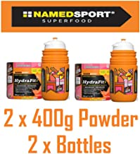 2 x Named Hydrafit Hydration Electrolyte Energy Isotonic Drink 2 x 400g 2 x Bottles – Cycle Run Gym Etc Estimated Price : £ 16,99