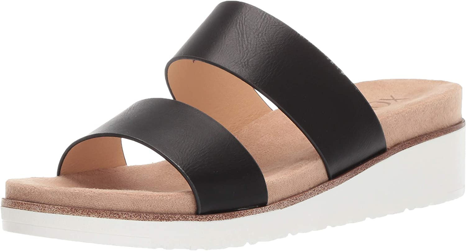 XOXO Womens Petra Wedge Sandal