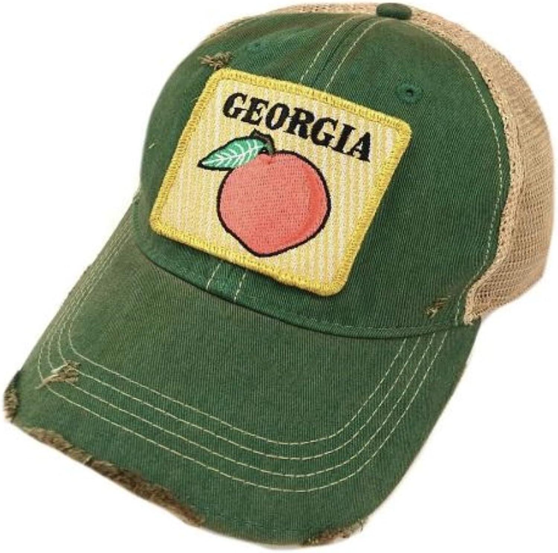Judith March Georgia Peach Green HAT