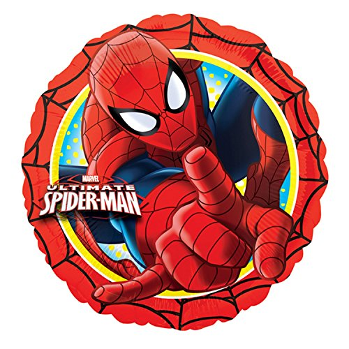 Ultimate Spider-Man Action Circle Foil Party Balloon