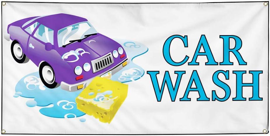 Vinyl Banner Multiple Sizes Car Special sale item Outdoor Wash C ...