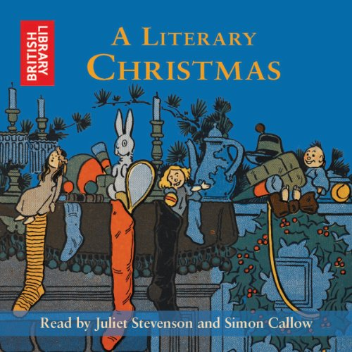 A Literary Christmas audiobook cover art
