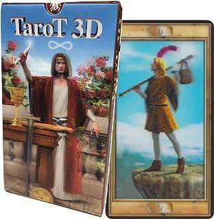タロットカード 22枚 ウェイト版 タロット占い 【 タロット 3D TaroT 3D 】日本語解説書付き [正規品]