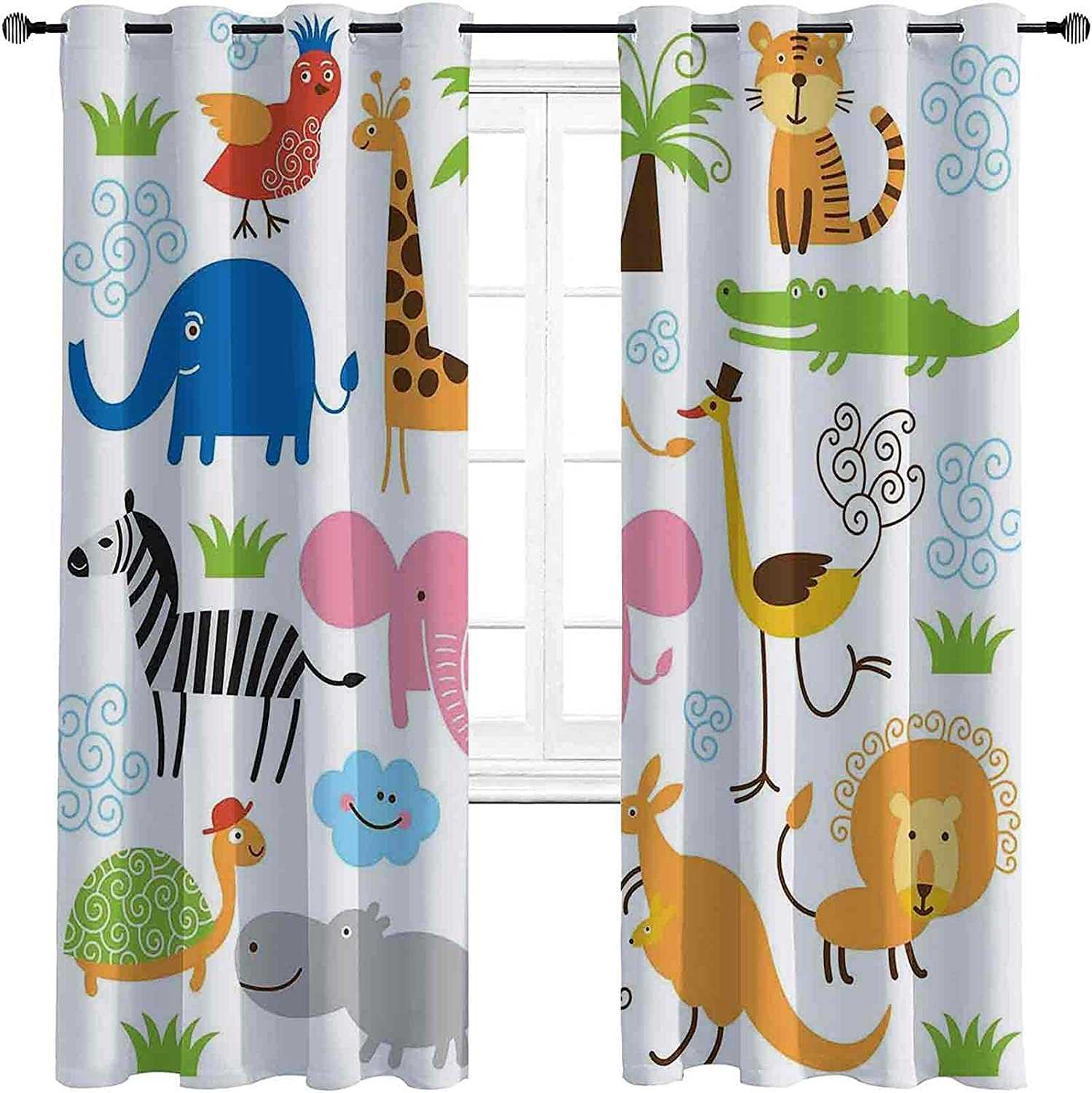 Animal The Living Room has Powerful Set Blackout Ranking TOP19 Cute Curtains favorite