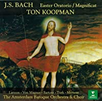 BACH: OSTER-ORATOROUM, MAGNIFICAT(reissue) by AMSTERDAM BAROQUE O & CHO KOOPMAN (2011-08-17)