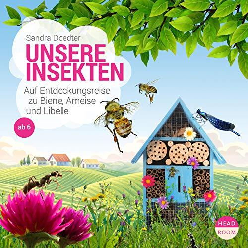 Unsere Insekten audiobook cover art