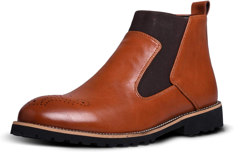 TUOKING Men's Original Chelsea Dress Boot