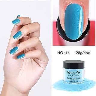 28g/Box Colorful Dipping Powder Without Lamp Cure Nails Dip Powder Summer Gel Nail Color Powder Natural Dry (no.14)