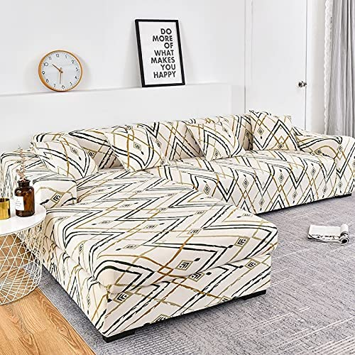 Geometric Pattern Slipcovers Elastic Stretch pet Atlanta Mall Popular Cover Pro Couch