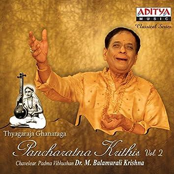 Thyagaraja Ghanaraja Pancharatna Krithis, Vol. 2