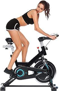 ANCHEER Bicicleta de Spinning Bici estática Indoor de Volante de Inercia de 22kg Bicicletas de Ejer